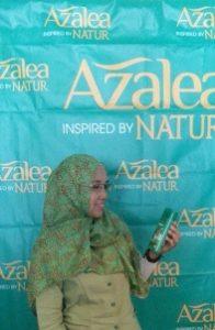 azalea hijab shampo