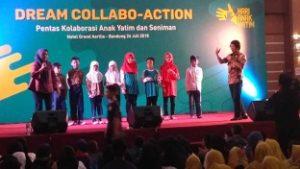 Dorong Bakat dan Potensi anak Yatim dengan Dream Collabo-Action