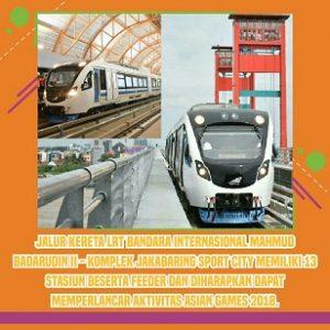 Pembangunan Infrastruktur untuk Asian Games 2018