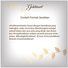 Freya Collection by Goldmart, si Cantik nan Elegan